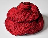 Blood queen - Silk Yarn Fingering weight