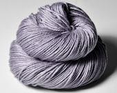 Withering Lupin - Silk / Merino DK Yarn superwash - Purple Hand Dyed Yarn - handgefärbte Seide - Garn handgefärbt - DyeForYarn