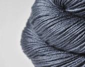 Stormy gray sea -  Silk / Merino DK Yarn superwash - Hand Dyed Yarn - handgefärbte Seide - Garn handgefärbt - DyeForYarn