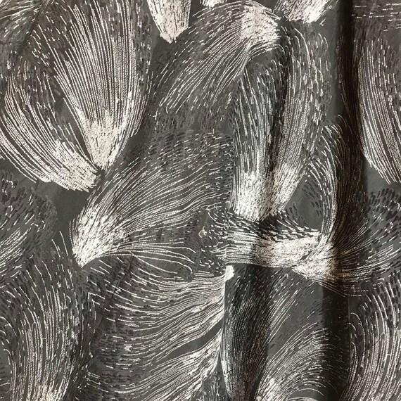 Vintage 1950s fireworks skirt • 50s novelty print… - image 4