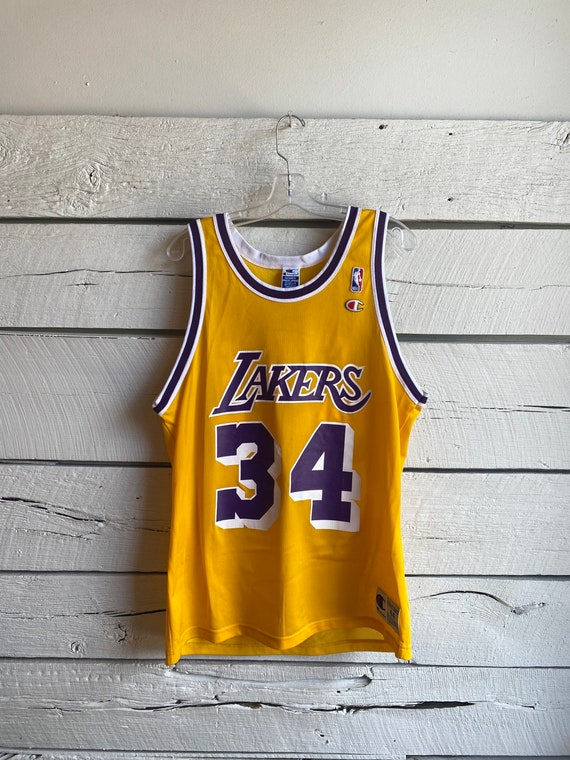 Vtg 2000s Shaquille O'Neal Los Angeles Lakers Cham