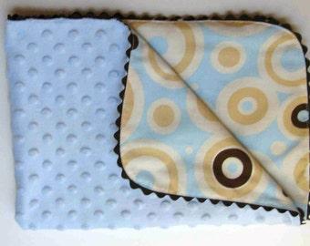 Baby Blanket Sewing Pattern, Easy, Beginner