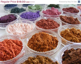 HOLIDAY SALE 10% OFF Eye shadows Mineral Makeup- 4 for 18