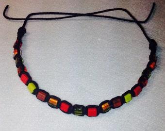 Hot Hues Beaded Bracelet