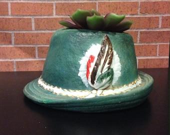 Tyrolean Hat Etsy
