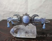 BLUE LACE AGATE Triple Mo...