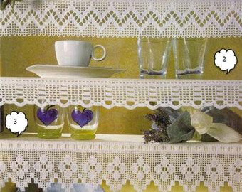Crochet Edging - Border - Curtains - Valance - Pleasant View
