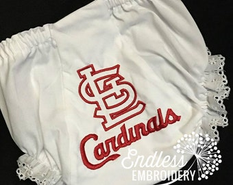 ST LOUIS CARDINALS Baby Bloomers