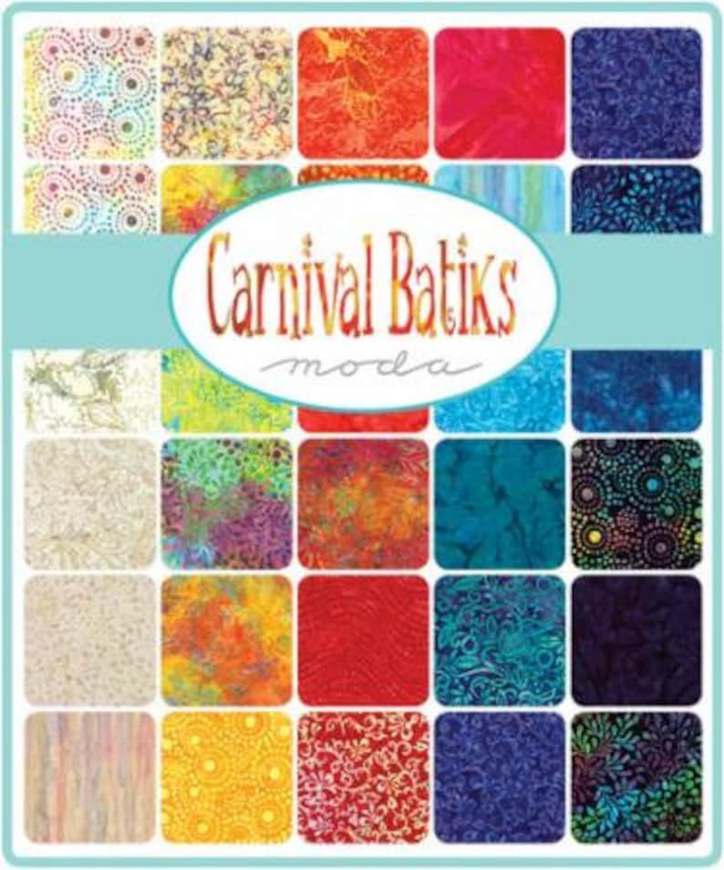Carnival Batiks 2 12 Strips From Moda Fabrics