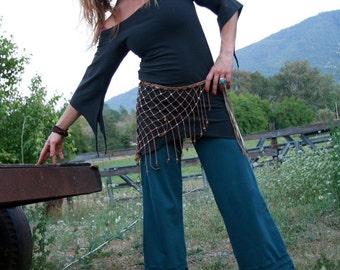 Baracuda Bloomers-Hemp and Organic Cotton stretch Pants by Hempress Arise