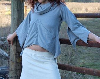 Micro Mini Spring Fling Skirt-Hemp and organic Cotton stretch by Hempress Arise