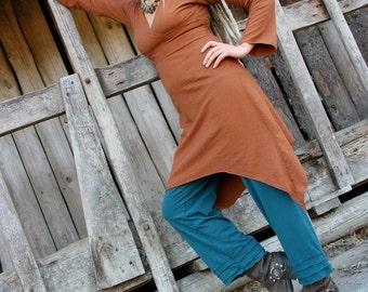 Divine Truth Dress-Hemp and Organic Cotton Dress by Hempress Arise
