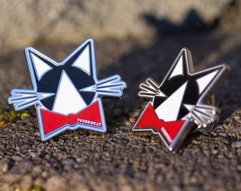 TuxedoKat Lapel Pin