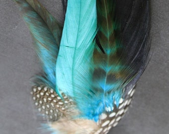 Free Shipping Marlin Feather Boutonniere