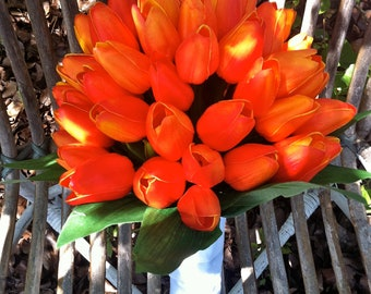 Calypso Orange Tulip Bouquet