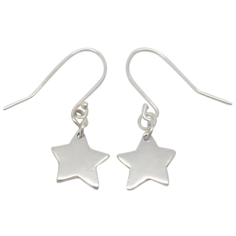 b2217fcfe Sterling Silver Small Star Earrings star earrings silver | Etsy