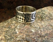 Belly Dance Sterling Ring...