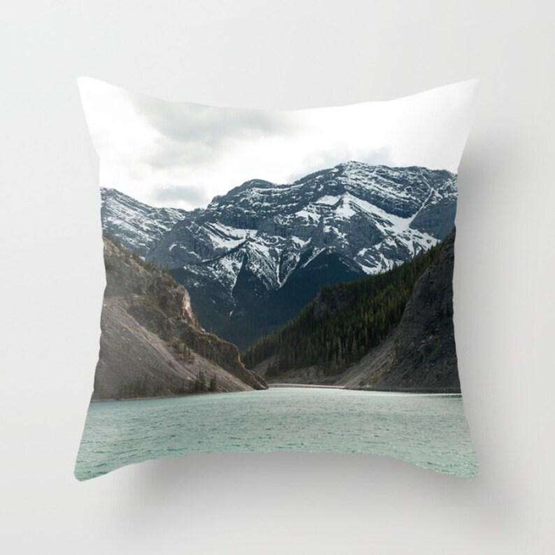 Sofa Cushion Case Rustic Mountain Lodge Masculine Bedroom image 0