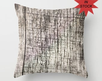 Wood Grain Fabric Pillow Cover, Lodge Decor, Abstract Pillow Cover, Rustic Cushion Case, Cabin Sofa Accent, Macro Photography, Ready to Ship