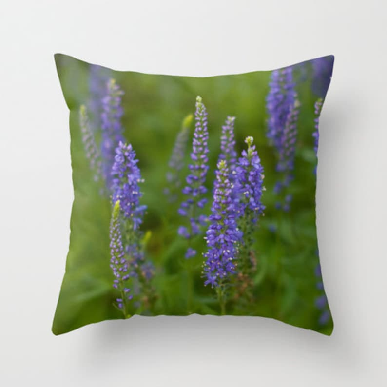Purple Cushion Case Accent Throw Pillow Cover For Sofa image 0