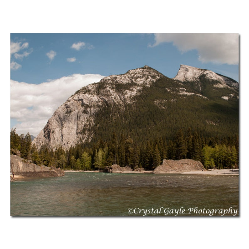 Rocky Mountains Photography Canadian Landscape Print Lodge image 0