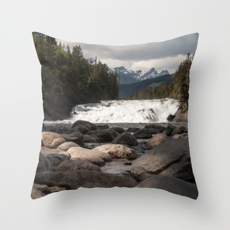 Mountain Cushion Covers With Trees to Accent the Mountain Home image 0