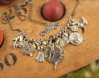 Dirty Dancing Inspired Movie Charm Necklace