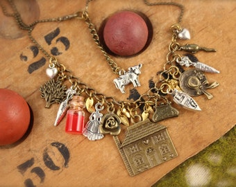 Anne Inspired House Charm Necklace