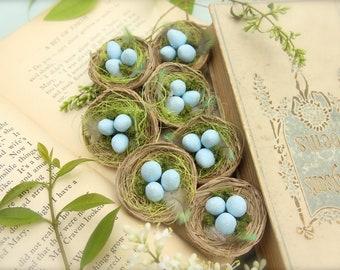 Bird Nest Eggs Pins