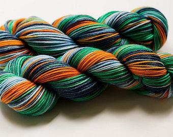 Colorway Recipe: Finnegan for dyeing on wool yarn.