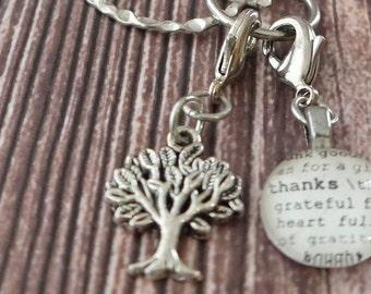 Tree Charm Silver-tone by Kristin Victoria Designs