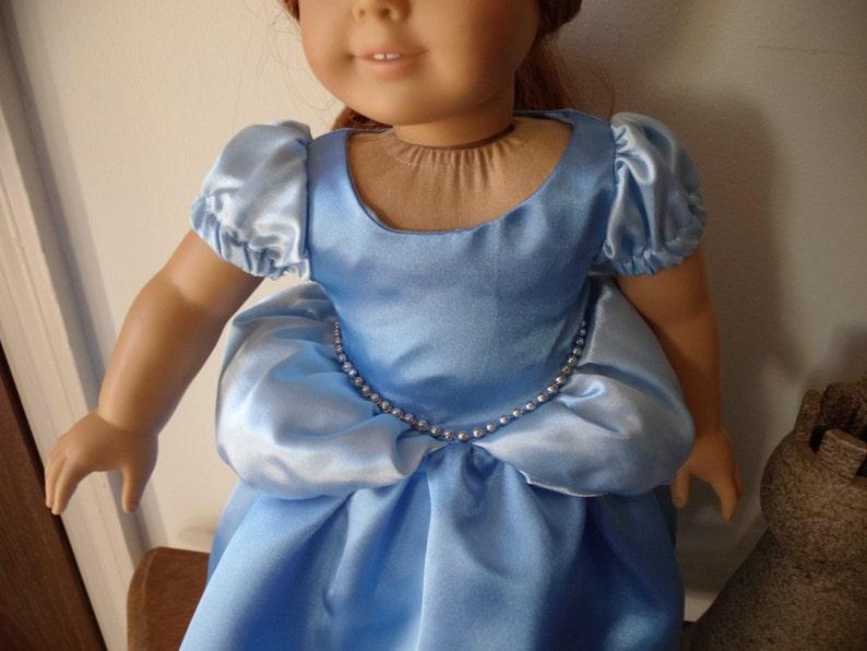 Cinderella Princess Dress for American Girl Doll
