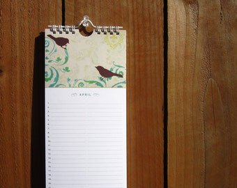 Birthday Calendar, Perpetual Event Reminder, Mothers Day