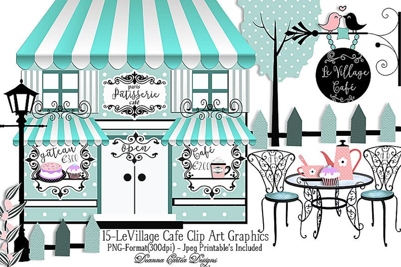 Image result for bakeries in paris clipart