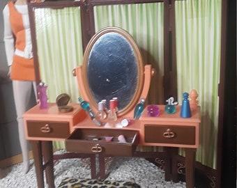 Barbie 1:6 scale* Vanity set* Very Hard to Find