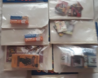7 Assorted Joshua Lifestyle Collectibles Miniature 1:12 scale