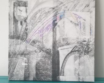 "Chicago 13"" Canvas Wall Art - Northwestern University Photo Collage"