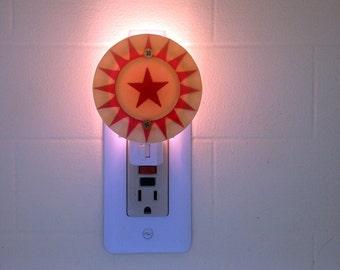 Stern Star When Lit Pinball Pop Bumper Cap Night Light
