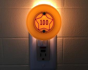 100 Pinball Pop Bumper Cap Night Light