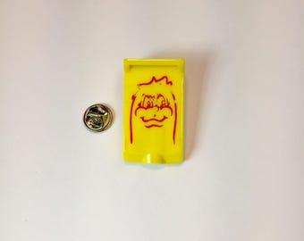Pacman Pinball Graphic Pin