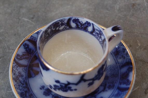 bleu en céramique classique de rangement cuisine Artisan Tea Canister English Tableware Co