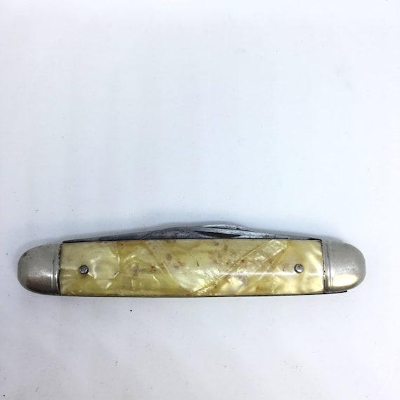 vintage imperial prov ri usa 2 blade pocket knife