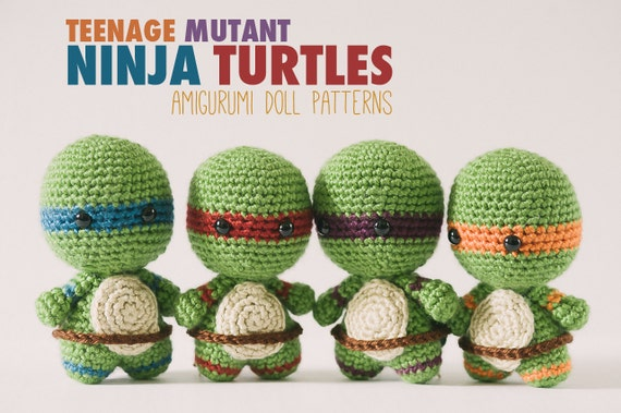 Teenage Mutant Ninja Turtles Amigurumi Crochet Pattern ... | 379x570