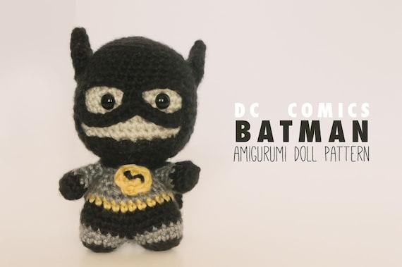 Batman Amigurumi | Batman amigurumi, Batman crochet, Amigurumi | 379x570
