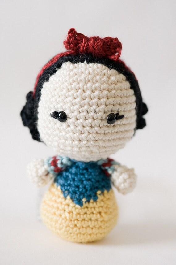 Clásico Disney princesa muñecas Amigurumi patrones / / Disney | Etsy