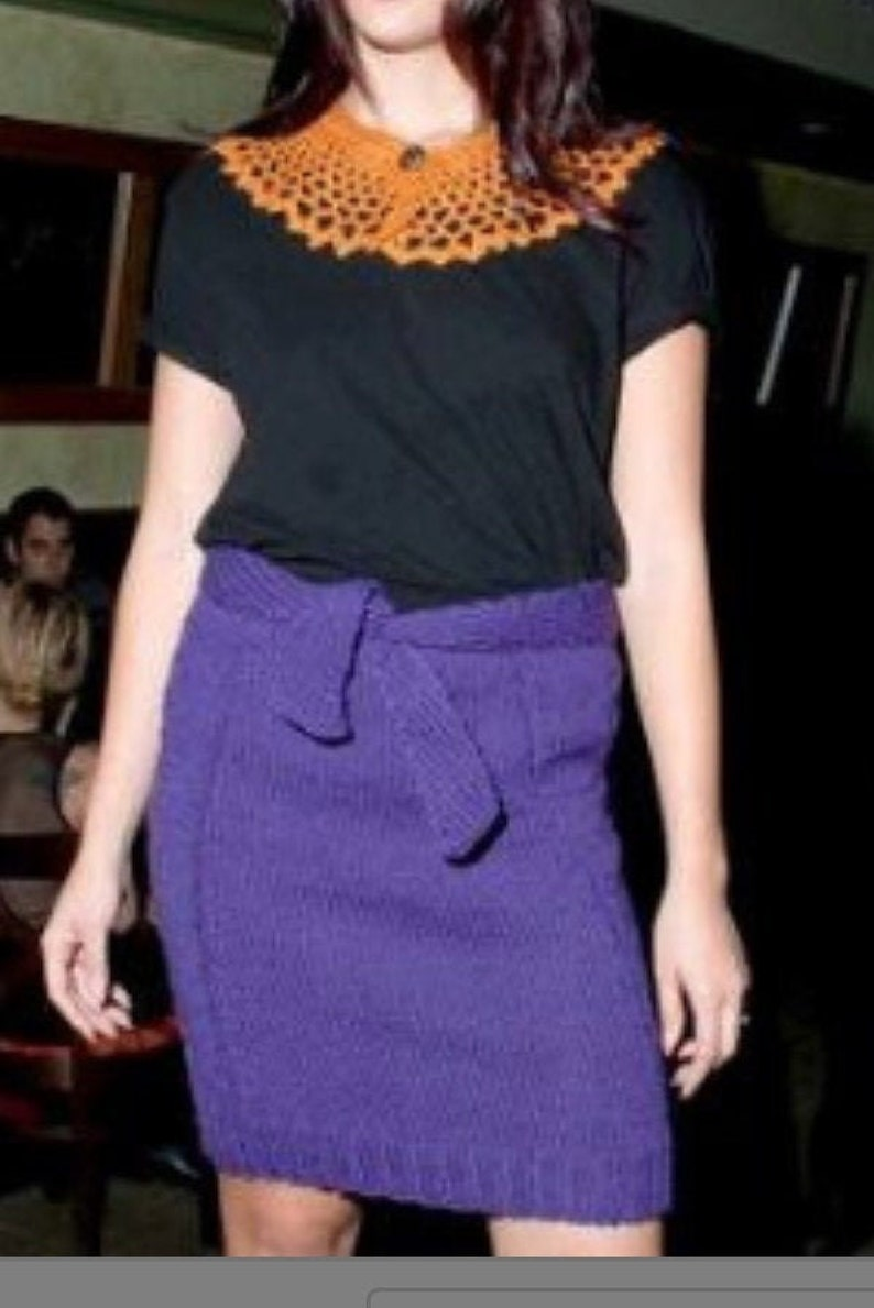 Variety of Skirts Hand Knitted Skirts Custom Orders-Knitted Skirt