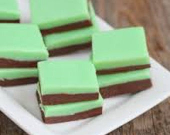 1 1/4 pounds Creme De Mint Fudge
