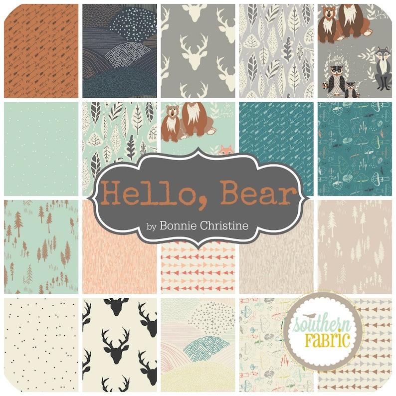 Bear Hello 20 Fat Quarter Bundle by Bonnie Christine for Art Gallery