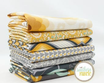Florabelle - Tucson by Joel Dewberry  7 Half Yard Bundle Quilt Fabric - for Free Spirit