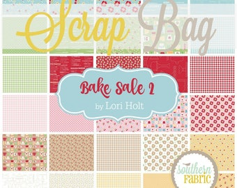 Bake Sale 2 - Scrap Bag Quilt Fabric Strips by Lori Holt for Riley Blake Fabrics